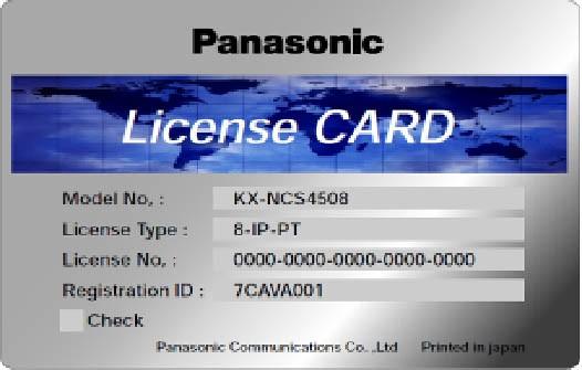 Panasonic KX-NCS 4910WJ erweiterte Funktionalität
