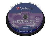 DVD-Rohling 8,5GB - 10er - Spindel - Verbatim