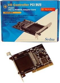 BW - Adapter PCMCIA => PCI Adapter Karte