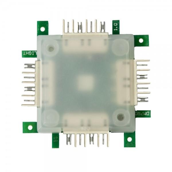 ALLNET Brick'R'knowledge LED RGB light Brick transparent 10er Pack