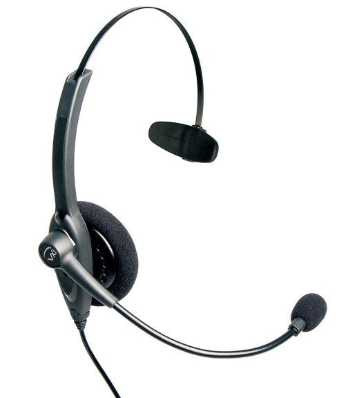VXI Headset Passport 10V DC, Mono, Kopfbügel, NC (Box)