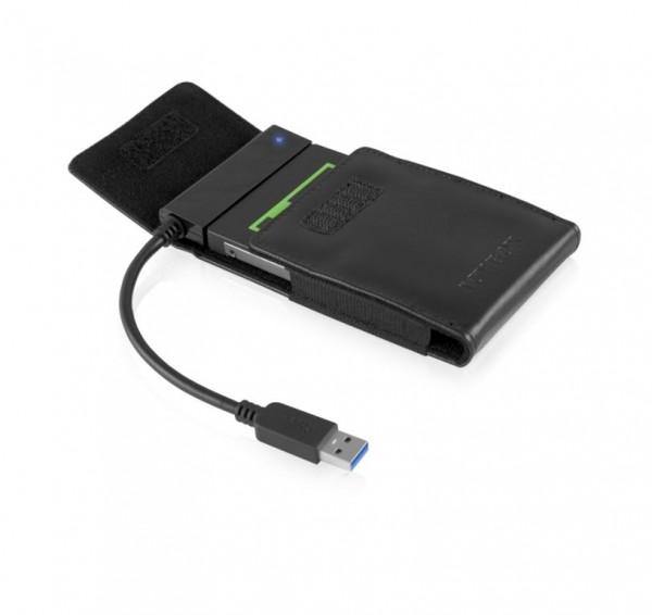 "ICY Box Adapterkabel mit Etui für 2, 5"", USB 3.0, IB-AC6031-3"