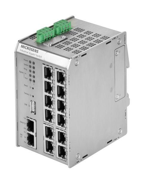 Microsens Profi Line Modular Industrie Gigabit Ethernet