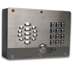 Cyberdata IP Intercoms - SIP Outdoor Intercom with Keypad