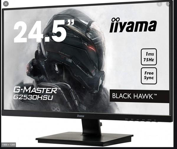 "TFT 24,5""/62,2cm iiyama G-Master G2530HSU Black Hawk *schwarz* 16:9"