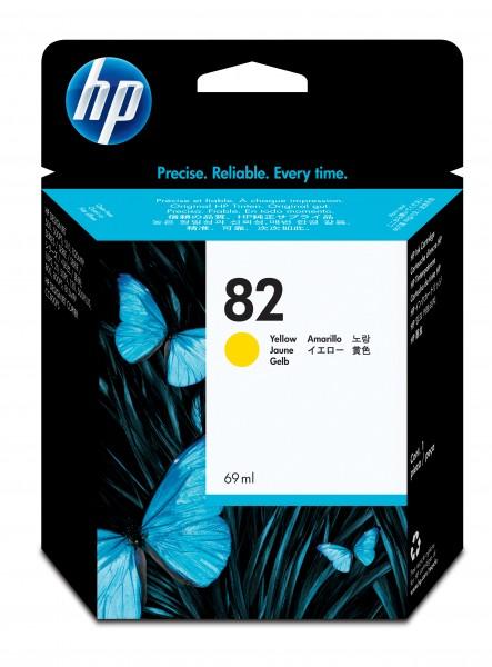 HP Tinte 82 *gelb*