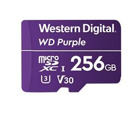 Flash SecureDigitalCard (microSD) 256GB - WD Purple