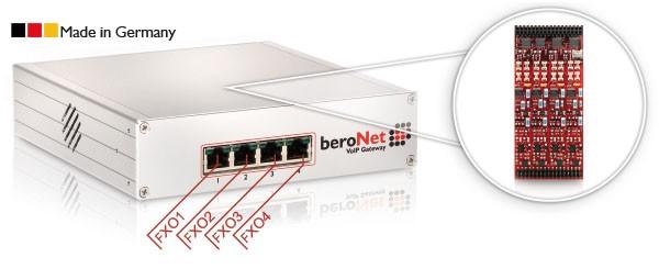 beroNet Modul 4x FXO