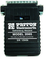 Patton 2085F-25M RS-232 to RS-485 Interface Converter
