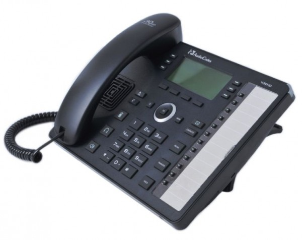 AudioCodes IP-Phone 430HD, Gigabit, PoE, Black