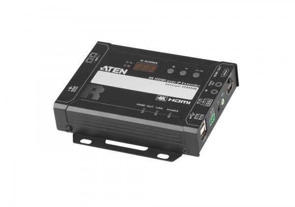 Aten KVM-Switch, 4K HDMI Einzeldisplay KVM over IP Empfänger