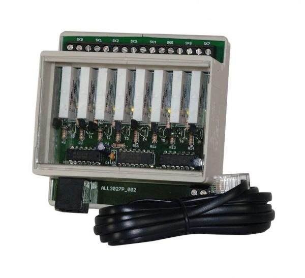 ALLNET MSR ALL4027 HUT / 8 Port 250V/6A Relais