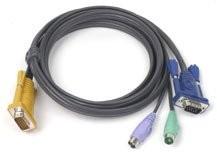 Aten Verbindungskabel SPHD, 3m, PS2,