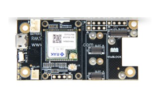 RAK Wireless RAK4600 Evaluation Board is a WisBlock product that consists of RAK4261 (RAK4260 LoRa M