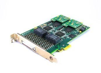 Sangoma 16xPRI/E1 PCIe Karte A116DE KIT + Breakout Panel