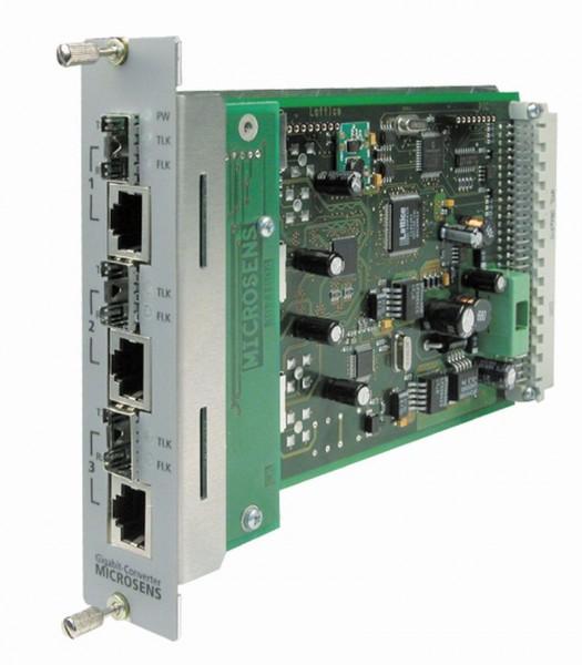 Microsens Gigabit Ethernet 3 Port Access Modul