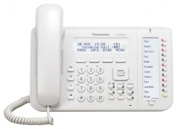 Panasonic KX-NT553NE-B weiss