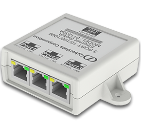CyberData Networking - 3-Port Gigabit Ethernet