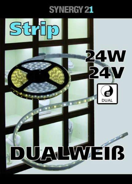 Synergy 21 LED Flex Strip dual white (CCT) DC24V 24W pro Farbe IP20