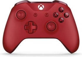 MS Xbox One Wireless Controller - rot