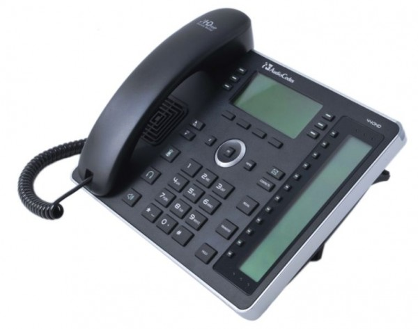 AudioCodes IP-Phone 440HD, Gigabit, PoE & PSU, Black