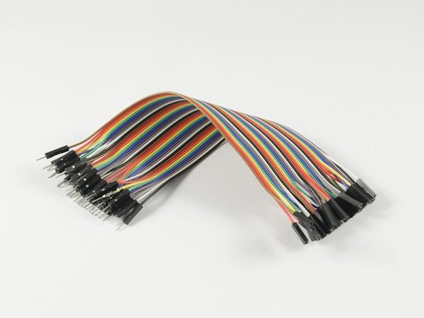 ALLNET 4duino Kabel Dupont 40 PIN 20 Zentimeter Stecker-Buchse