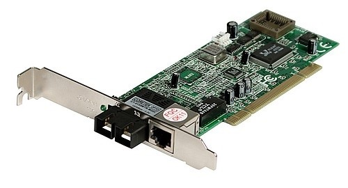 Fast Ethernet PCI Adapter Card 100FX + 10/100TX, SC Multimode