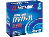 DVD-Rohling 8,5GB - 5er - Jewel Case - Verbatim
