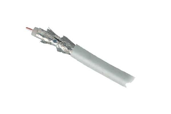 Kabel SAT, Koaxial geschirmt 4-fach, DIGITAL CCS, 100m, Rin