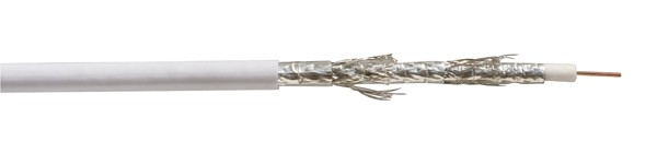 Kabel SAT, Koaxial geschirmt 5-fach, DIGITAL CU, 100m, Spul