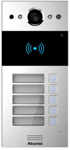 Akuvox TFE R20BX2 IP Door SIP Intercom with Two (2) Button (Video & Card reader) *On Wall*