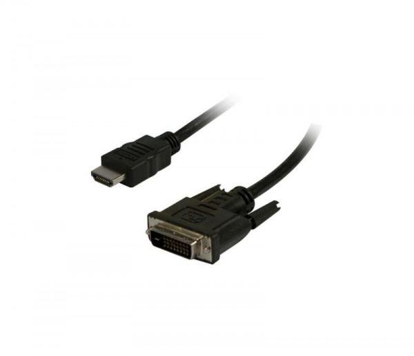 Kabel Video HDMI 1.4 => DVI-D, 1.5m, Ultra HD 4K*2K 3840*2160@30hz, Synergy21,