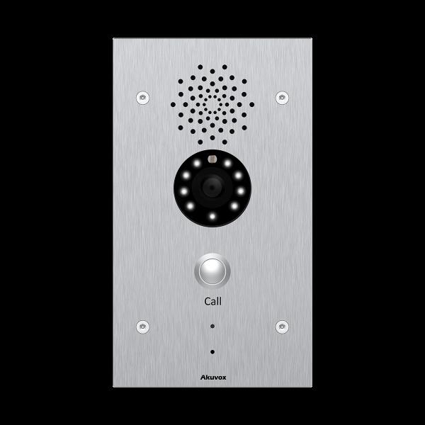 Akuvox TFE E21V IP Door Vandal resistant SIP call station *Flush Mount Bundle*