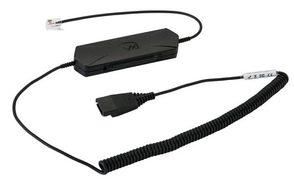 VXI Kabel OmniCord-P, QD auf RJ9, mit Verstärker