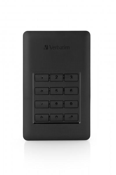"USB HDD 2,5"" 2000GB 3.1 Verbatim Secure Portable"