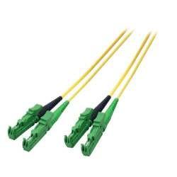 LWL-2-Faser-Patchk. 75mtr.E2000(APC8G)-E2000(APC8G), 9/125u