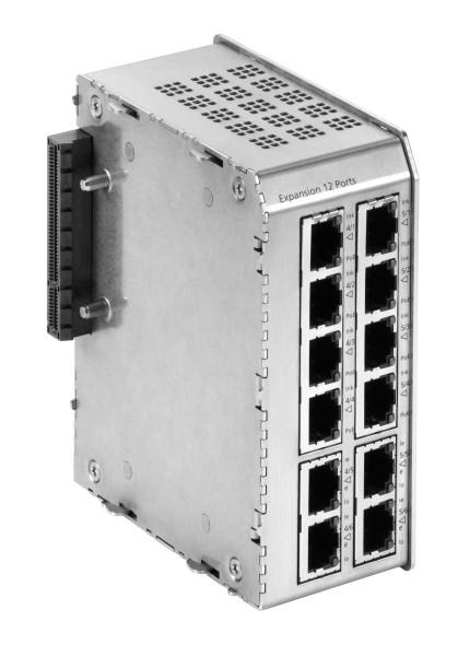 Microsens Profi Line Modular 12 Port Erweiterung, MS652419PM