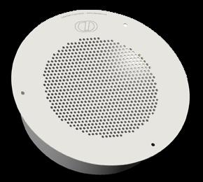 CyberData Zubehör - Auxiliary Analog Speaker (RAL 9003, Signal White)