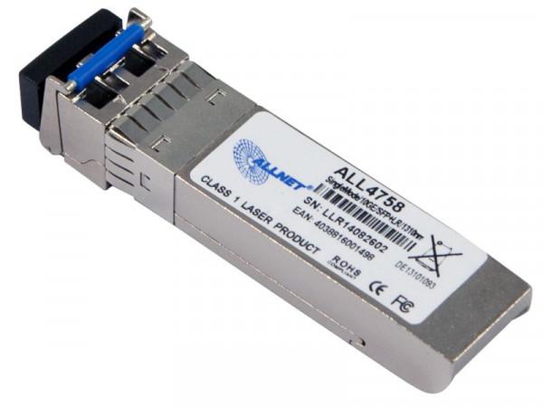 ALLNET Switch Modul ALL4758 SFP+(Mini-GBIC), 10Gbit Singlemode, LR/LC, bis 20Km