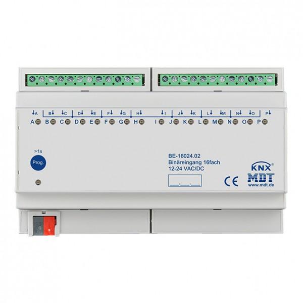 MDT - Binäreingang 16-fach 8 TE REG - 24VAC/DC