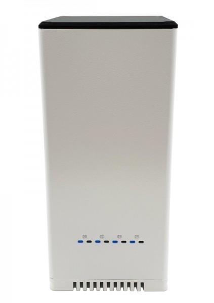 Raspberry 4 SATA NAS Kit für bis zu 4 Festplatten 2,5 Zoll, größenbedingt 4TB max. pro HDD)