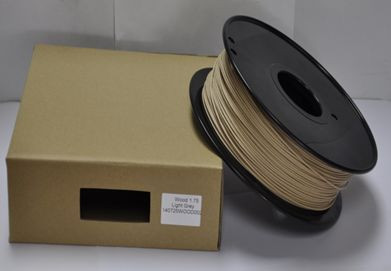 Synergy 21 3D Filament WOOD /Solid /3MM/ hell Wood color