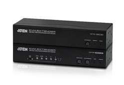 Aten KVM-Extender, USB VGA Dual View with Audio and RS-232
