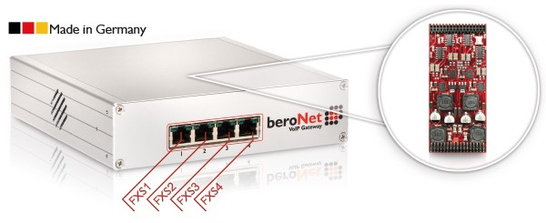beroNet Modul 4x FXS