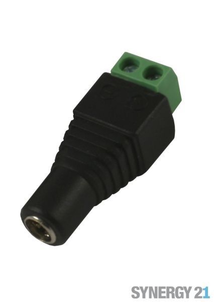 Synergy 21 LED zub Hohlbuchse mit Schraubklemmen