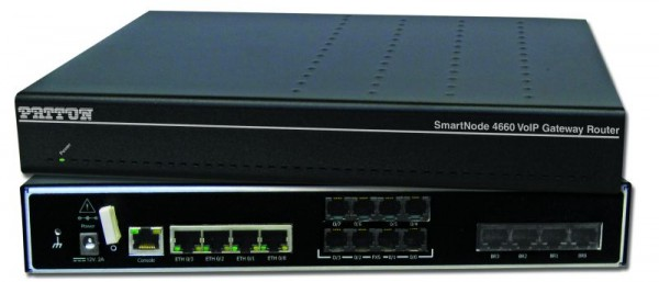 Patton SmartNode 4661 GW-Router, 4 BRI, HPC