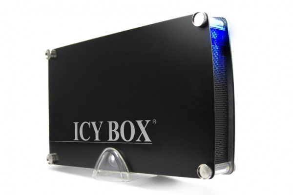 "ICY Box Gehäuse, ext.SATA 3, 5""/USB 3.0, Black, IB-351StU3-B,"