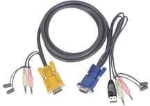 Aten Verbindungskabel SHDB-15, Audio, USB K5084.1,8,2L-5302U,
