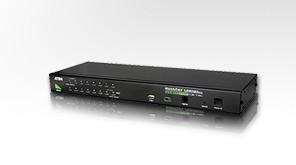 "Aten KVM-Switch 16-fach VGA/(USB, PS/2), 19"", KVMP, stackabl"