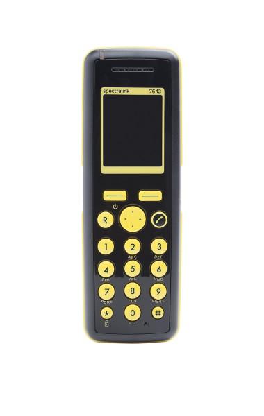 Spectralink Handset 7642 inkl. Akku (roter Alarmknopf)